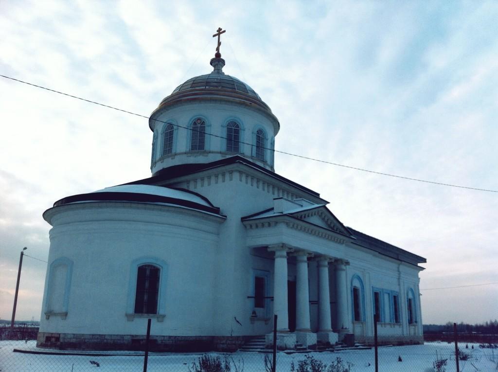 Троицкий храм деревни Пантелеево